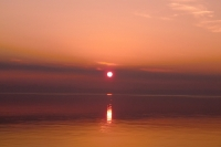 Закат на Байкале