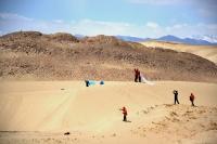 Песчаные дюны Тибета