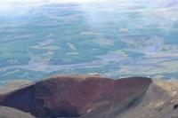 подъем на вулкан Мутновский