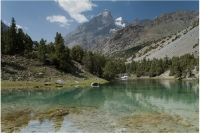 озеро в Фанских горах