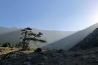 Рассвет в Фанских горах