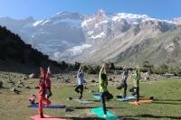 Йога в Фанских горах