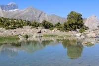Арча и озеро