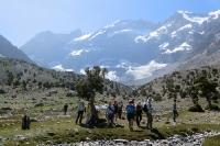 группа в Фанских горах