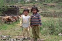 дети Бутана